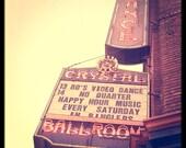 Portland Photography Crystal Ballroom--Fine Art Photography 8x8