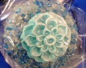 Edible Wedding Favors Blues and silver With Flowers Oreos Frost the Cake Mardi Gras