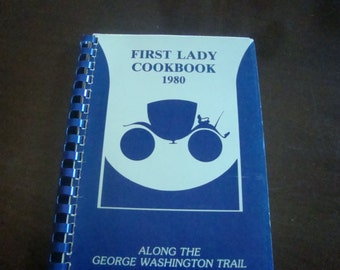 First Lady Cookbook 1980