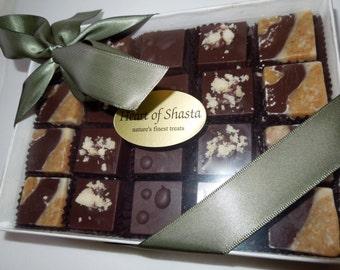 20 Piece Organic Raw Dark Chocolate Nutty Assortment