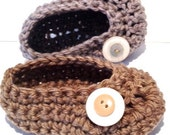 Oh Baby, Button Ballet Shoes PDF by DDK, crochet pattern