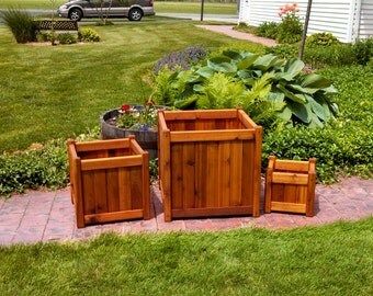 3 Pack Combo Planter boxes: Sm, Med & Large............ Save on Shipping costs!