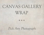 Canvas Gallery Wrap, Fine Art Photography, Canvas Art, Custom Wall Art, Ready To Hang