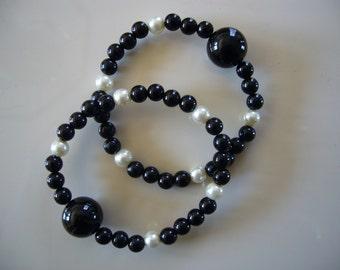 "Queasy Beads™ Motion Sickness Bracelets in ""Moonlight"""