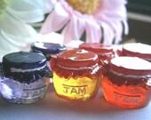 3pcs/Jam bottle Cabochons Miniature Food/ sevPS290-a-103