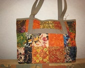 Tuscan Quilted Tote Bag