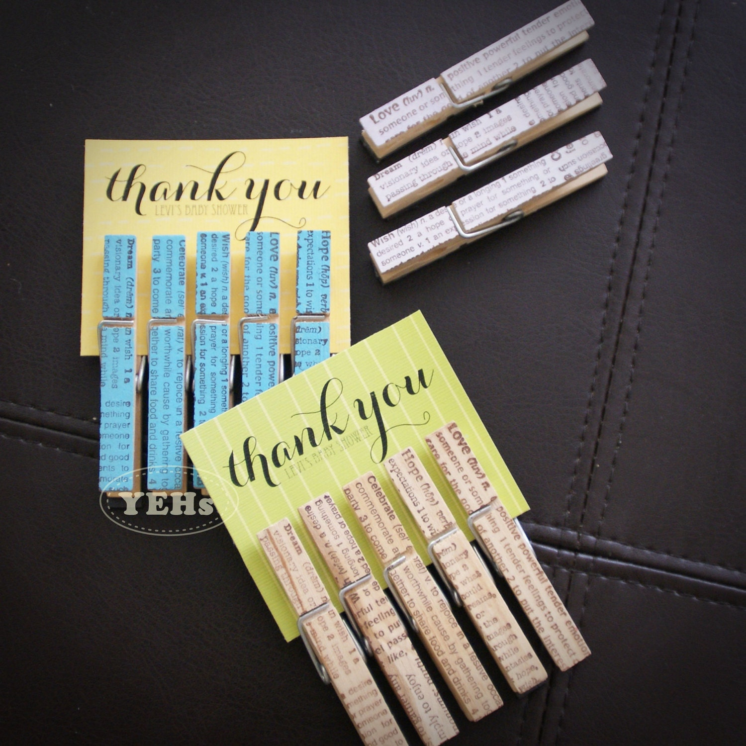 decorative clothespins 50pcs the best baby shower bridal
