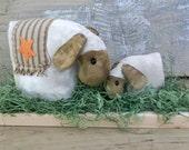 Primitive Sheep Pattern, A Mothers Love, Ewe and Lamb - 249, HAFAIR