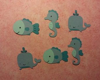 Sea Critters- Set of 6