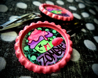 Zombie Cupcake hair cllps