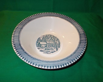 """One (1), 9"""" Vegetable Bowl, from Royal (USA) in the RY 16 Pattern."""