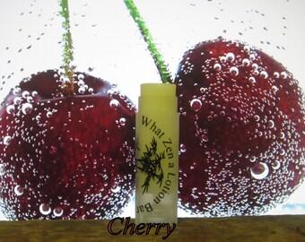 """Organic """"Cherry"""" Lips so Luscious Lip Balm - 31 Luscious Flavors - 100% Natural"""