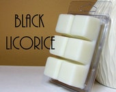 Black Licorice Scented Wax Melts