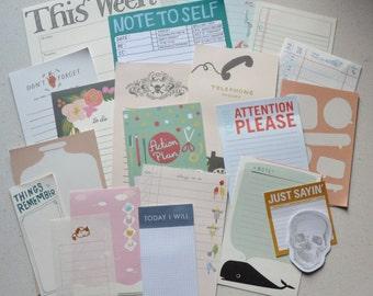 Destash Paper Pack - The lister's heaven pack