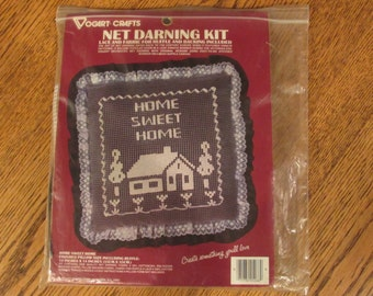Home Sweet Home   Net Darning Kit Complete