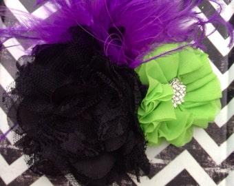 Halloween Hair Headband, Halloween Hair, Halloween, Girls Halloween, Halloween Headband
