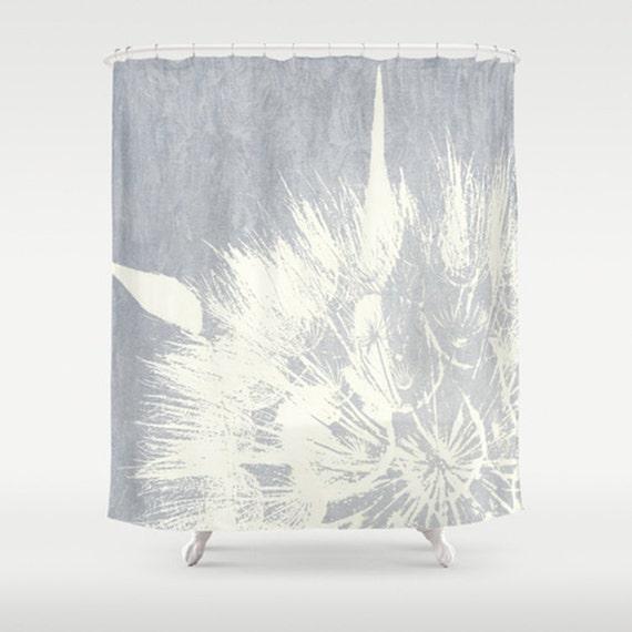 fine art shower curtain dandelion art by mscottphotography