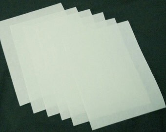 6 Sheets 3M Wet Or Dry Polishing Paper Pale Green 8000 Grit 8.5 x 11 Inches