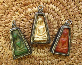 Antique Style Thai Buddhist Amulets