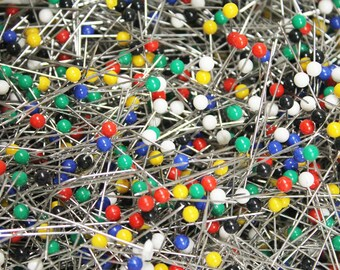 Straight Pins, Quilters Pins, Long Straight Pins