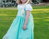 Queen Elsa frozen inspired princess dress everyday custom 4t-6
