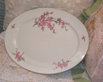 Platter, E&R Bavaria Germany Mared China, Serving Platter, Vintage Platter, Older E R Bavaria Germany Mared China Oval Serving/ Platter :)S