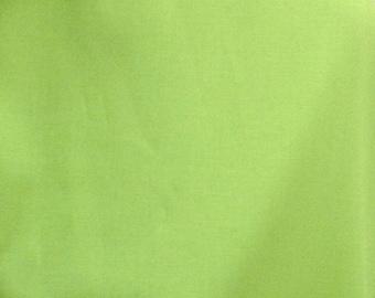 SALE--FreeSpirit Solid--KIWI--100% cotton fabric--price is per yard