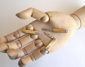 knife miniature, folding knife size2typeB