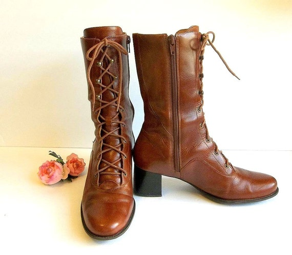 Vintage Granny Boot 45