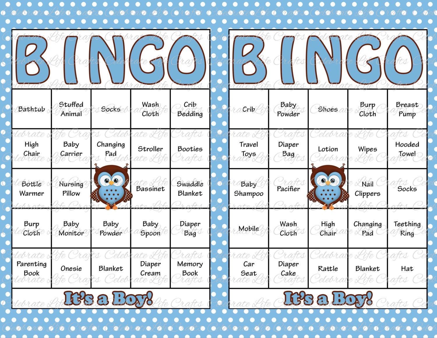 It's just a photo of Gorgeous Printable Baby Bingo Cards