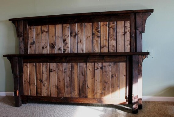 Items similar to Authentic Solid Wood Handcrafted Rustic ...