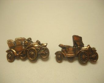 Two (2) Copper Roadster Pins (418)