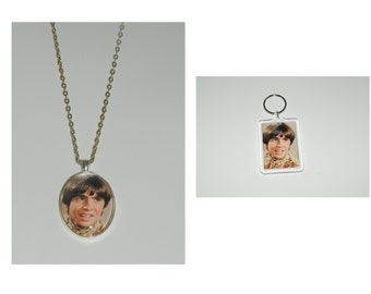 The Monkees Davy Jones Glass Pendant Necklace and/ or Keychain