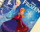 Frozen Little Golden Book Recycled Journal Notebook