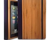iPad Mini 3 Case, Bamboo Wood iPad Mini 3 Case, Wood iPad Mini 3 Bookcase - Primovisto