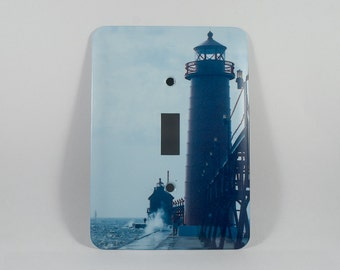 Items similar to south haven michigan lighthouse hand for Beach house designs south haven mi