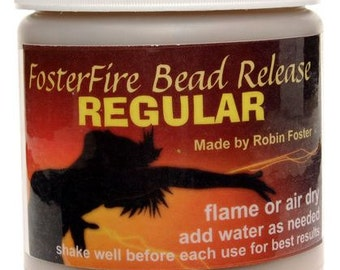 FosterFire Bead Release Regular formula, 8 oz. Flame or Air Dry