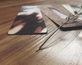 Bookmark Collection - Set of 3 Romantic Bookmarks Featuring Original Photographs