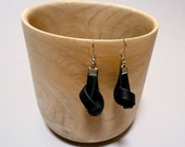 Leather Earrings - Recycled