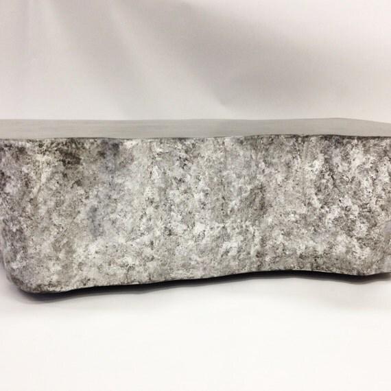 Silver Leaf Cast Stone