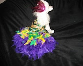 Mardi Gras Ruffsody-MEASUREMENTS REQUIRED-put in comment section at checkout