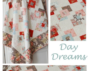 PATTERN: Jelly Roll Friendly, Day Dreams by The Pattern Basket