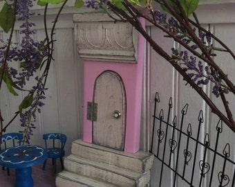 Fairy door that opens, Fairy Garden, Pink Fairy Door, Birthday, Girls Room, Girls, Pink Fairy Door, Wall Hanging, Garden, Mothers Day.