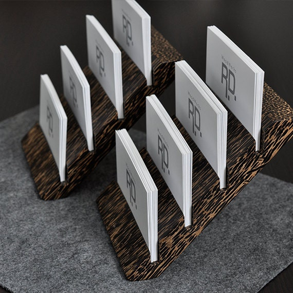 Items similar to Multiple Business Card Holder Tier