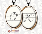 HOW to WRITE ABC 30x40mm, 18x25mm, 13x18mm size images Digital Printable download for bezel cabs & trays pendant settings earrings rings