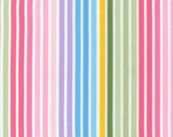 Ann Kelle: Remix Stripe in Spring - 1 Yard