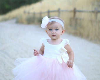 First Birthday Dress ~ Vintage Little Beauty ~First Birthday outfit girl, Easter Dress, Flowergirl dress