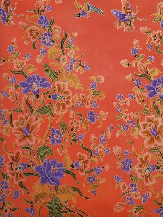 Batik decorative paper design wrapping