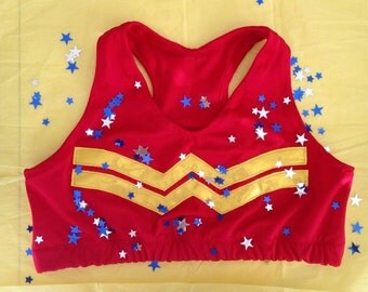 Star girl sports bra