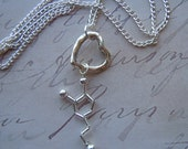 Biolojewelry - Dopamine Necklace with Heart Charm